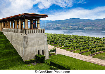 Winery in Kelowna, British Columbia - Winery Terrace...