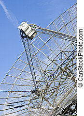 Radio Telescope Dish - The receiver of a radio telescope...