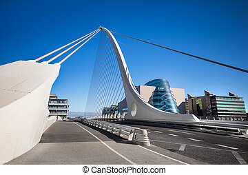 Bridge Dublin - Samuel Beckett Bridge Dublin Ireland