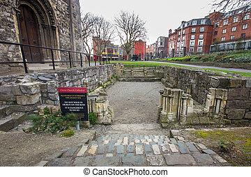 Christ Church Ruins - Historic ruins at Christ Church...
