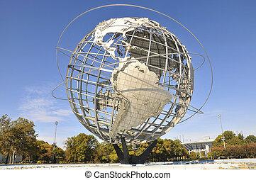 The Unisphere in New York