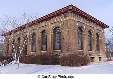 Public Library in West Side Saint Paul - Historic public...