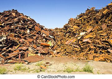 Steel Scrap Heap