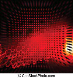 abstract background with halftone vector illustration