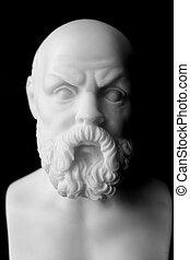 socrates, lived, atenas, (470, AC, -, 399, BC), era, griego,...