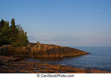 Lake Superior - Picture of Lake Superior coast in Grand...