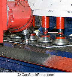 Grinder - An industrial grinding bench