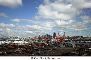Seattle Harbour skyline