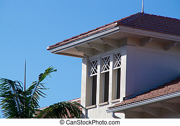 floridian architecture - Generic building in florida with...