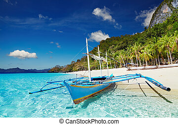 Tropical beach, Philippines - Tropical beach, South China...