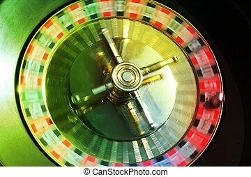 Hope of a prize - For the present the roulette at us turns...