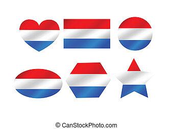 National flag of Netherlands