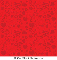 Valentine's day background (vector)