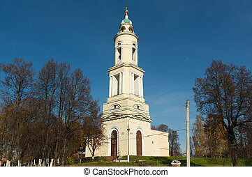 Church of Resurection in Pavlov Posad city, Russia