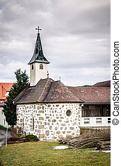 Small Church in Upper Austria