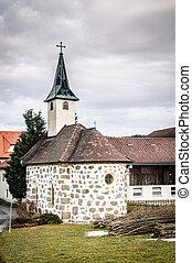 Small Church in Upper Austria
