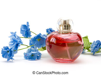 perfume and flower