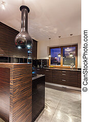Ruby house - Modern kitchen interior - Ruby house - Interior...
