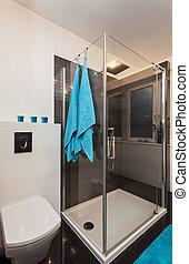 Minimalist apartment - bathroom - Minimalist apartment -...