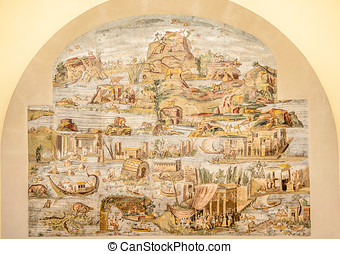The Nile Mosaic - Palestrina - The Nile Mosaic of Palestrina