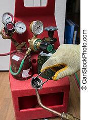 factótum, reparador,  hvac, herramientas