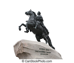 Russian King Peter Statue - Peter The Great on horse statue...