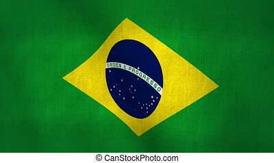 Brazil Flag Background Loop-able - Brazil Flag Background...
