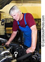 Motor, mekaniker
