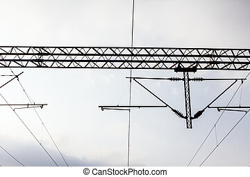 Electric Railways with overhead power line - Electric...