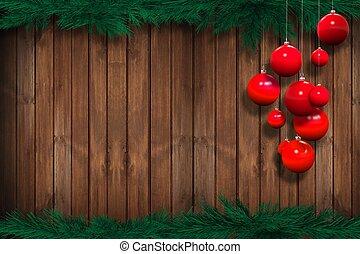 Holiday Season Background - Holiday Season Wooden Background...