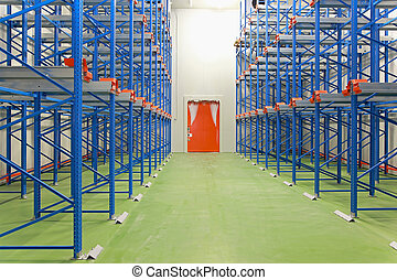 Freezer warehouse