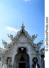Temple Door at Wat Rong Khun, Chiang Rai Province, Thailand