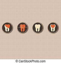 SÍMBOLOS, odontologia