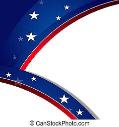 patriottico, fondo, MLK