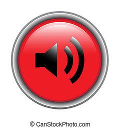 Loud speaker button