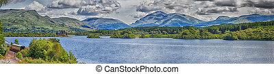 Loch Awe Panorama