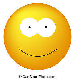 Clipart Vector of Smiley Happy Face Clip Art - Smiley or happy ...