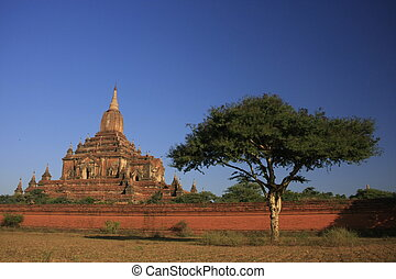 Sulamani temple, Bagan Archaeological Zone, Mandalay region,...
