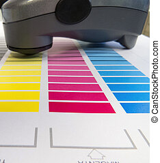 Spectrometer Colour Chart - Printing colour charts for...