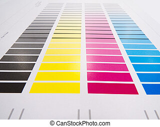 Colour Chart - Printing colour charts for measuring colour...
