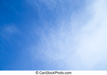 background of a beautiful sky with clouds