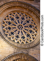The Church of St. Jaume in Majorca.Spain