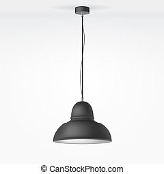 Vector Isolated Lamp