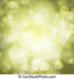 Abstract green circular bokeh background blur - Abstract...