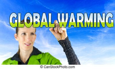 global, concepto,  warming