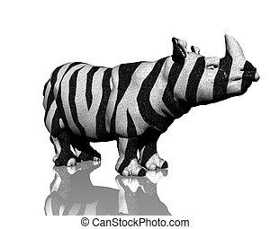 3d rino model