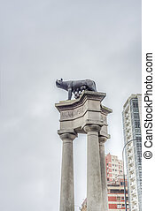 Romulus and Remus in Mar del Plata, Argentina - Romulus and...