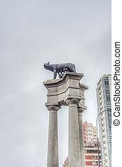 Romulus and Remus in Mar del Plata, Argentina - Romulus and...