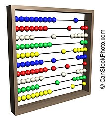 Abacus - Illustration of an isolated Abacus