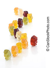 Dare to stand out of the crowd - Gummy bear - Dare to stand...